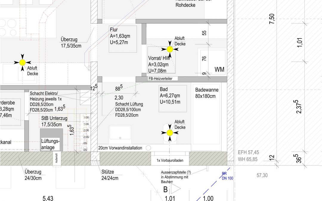 Baustart Einfamilienhaus in Bonn-Beuel
