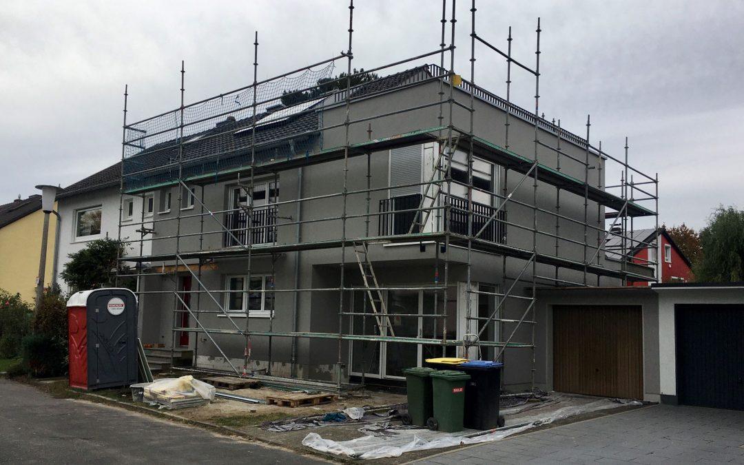 Fertigstellung Einfamilienhaus in Bonn-Beuel