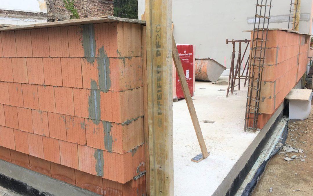 Bauarbeiten Einfamilienhaus in Bonn-Beuel