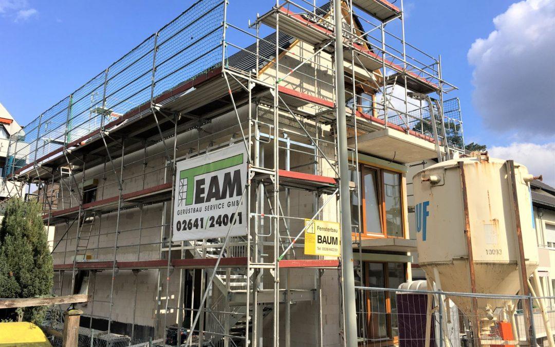 Bauarbeiten Zwei-Familienhaus in Bonn-Mehlem