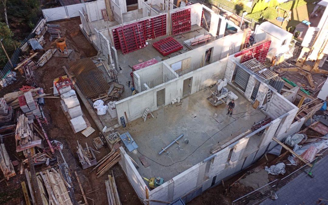 Bauarbeiten Wohnanlage in Bonn Beuel-Holzlar
