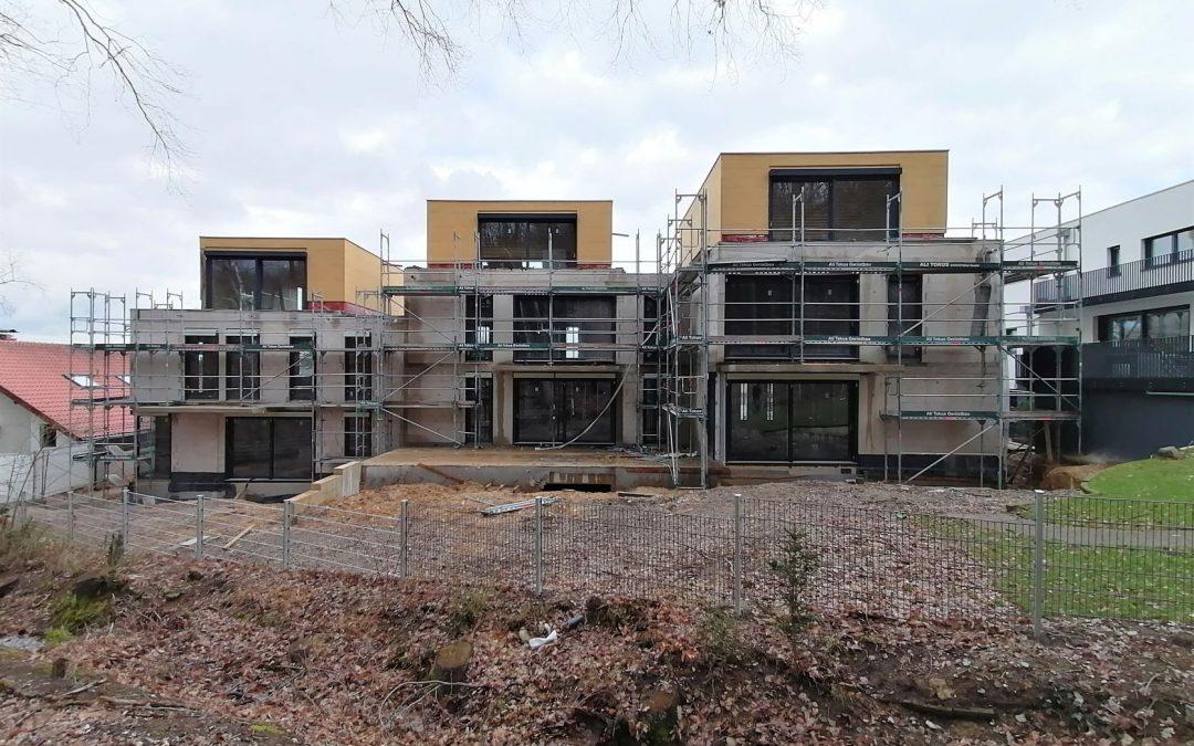 Fortschritte Wohnanlage in Bonn Beuel-Holzlar